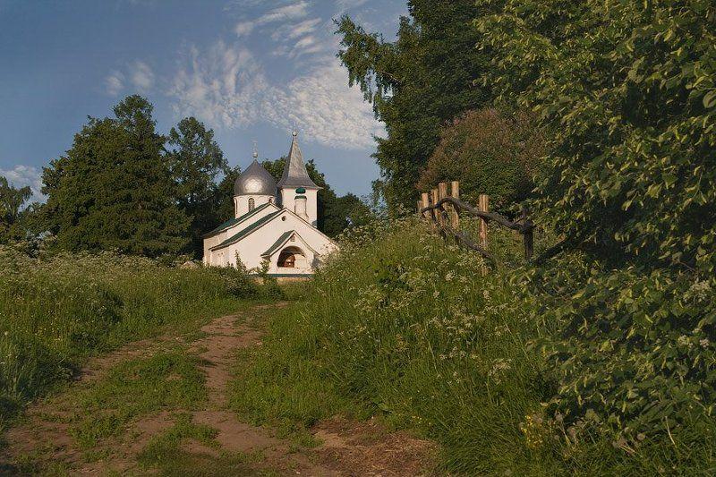 бехово, село, вечер, церковь, лето Летний вечер в Беховоphoto preview