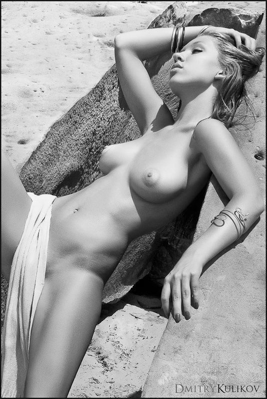 лето, ню, песок Sand dreamphoto preview