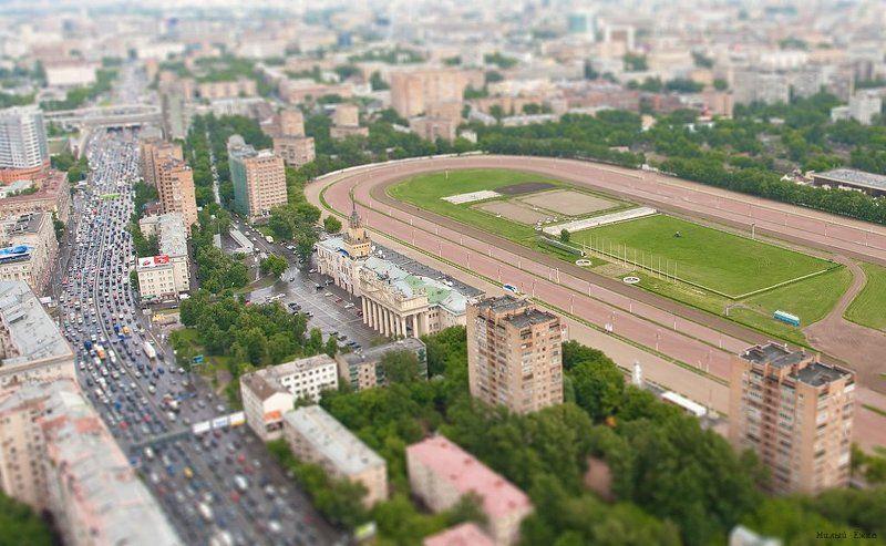 город, вид с крыши А из нашего окна...photo preview