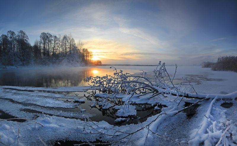 шатура святое озеро. Шатура зимой.photo preview