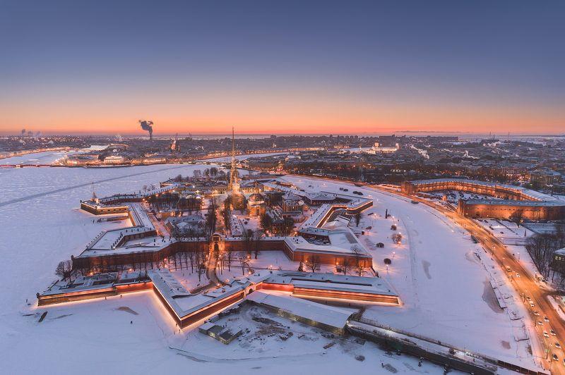 Вечерний Петербург. Петропавловская крепостьphoto preview