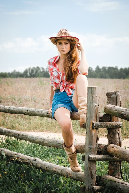 портрет девушка лето модель model portrait art girl summer annromanovska country girl Country girlphoto preview