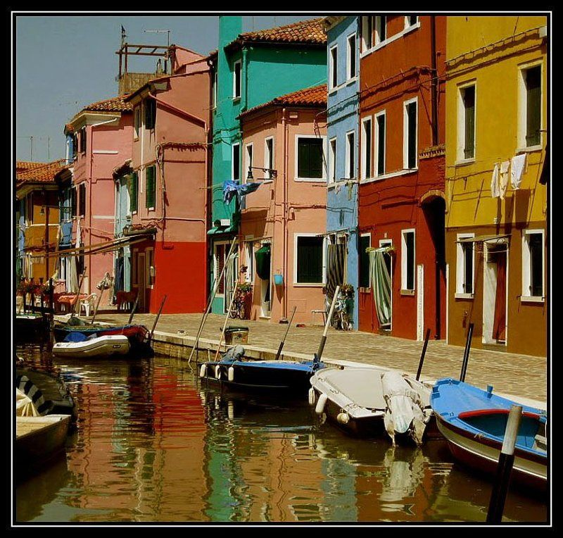 burano,venice,italy Colours of Buranophoto preview