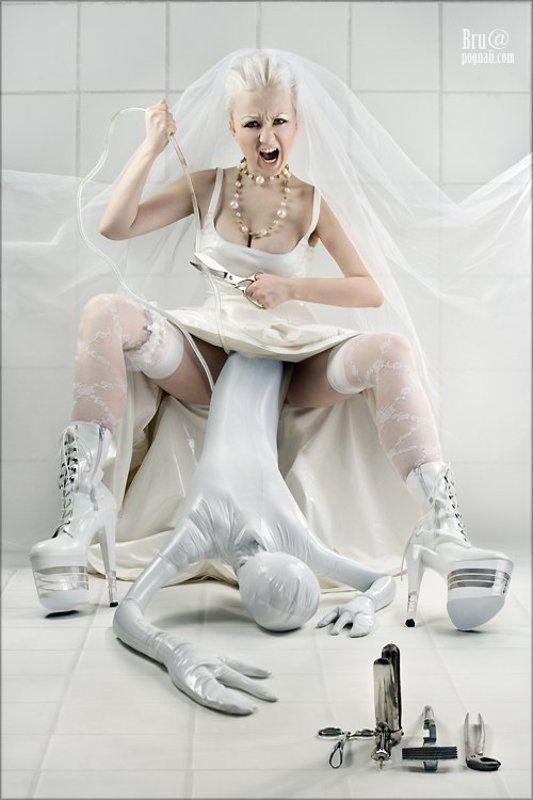 fetish, zentai, bride, agna devi, catsuit, bdsm, фетиш, комбинезон, кэтсьюит, агна деви, зентай, треш, эмоции, невеста, альтернативная, винил, пвх, платье, роженица, фетишистка Фетиш Мама, или вот к чему приводят генномодифицированные продукты.photo preview