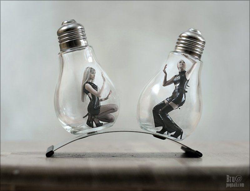 лампочки, девочки, фетиш, агна деви Этюд в лампочкахphoto preview