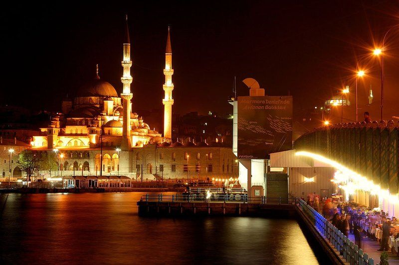 Istanbul. Galata Bridge.photo preview