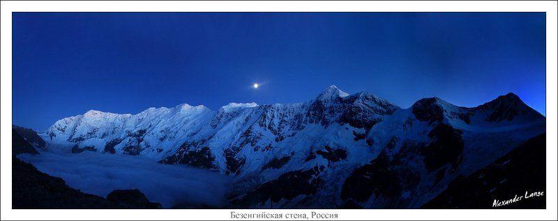 кавказ, горы, безенги Безенгийская стенаphoto preview