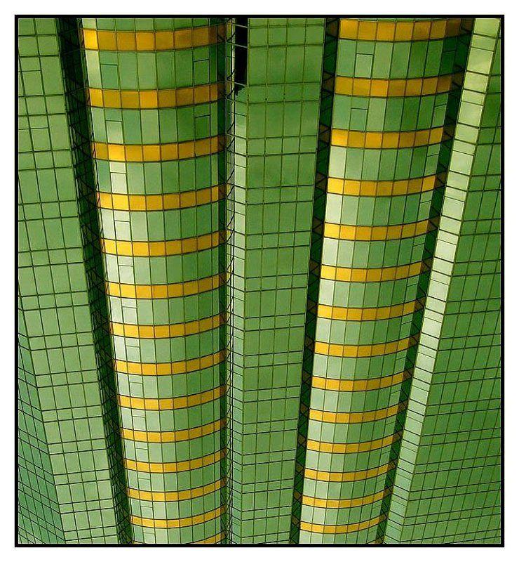 hong kong,china Green Geometryphoto preview