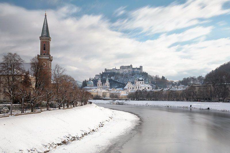 зальцбург, австрия, европа, зима Зальцбургphoto preview