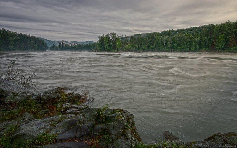 алтай, река, катунь, лето, природа, пейзаж Сказания древней Катуни...photo preview
