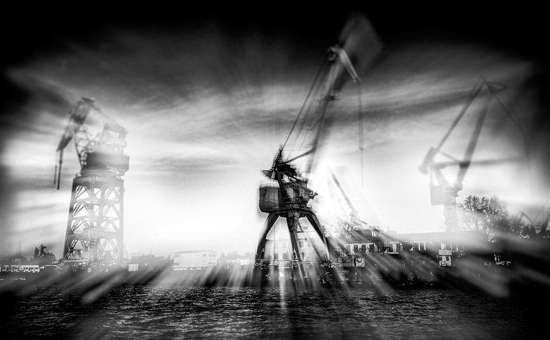 абстракция, война миров, жанр, жанровая, творческая, черно-белое Война Миров Zphoto preview