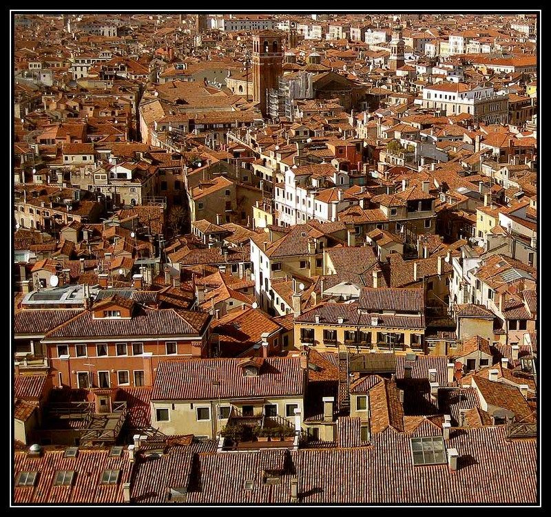 venice,italy The Roofs of Venicephoto preview