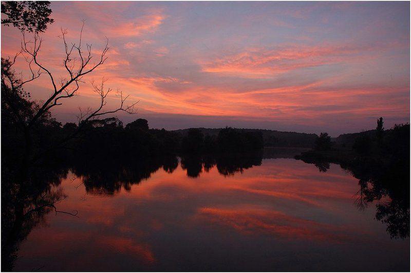 вечер, закат, река_роставица Краски уходящего дняphoto preview