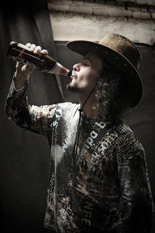 Cowboy & beerphoto preview
