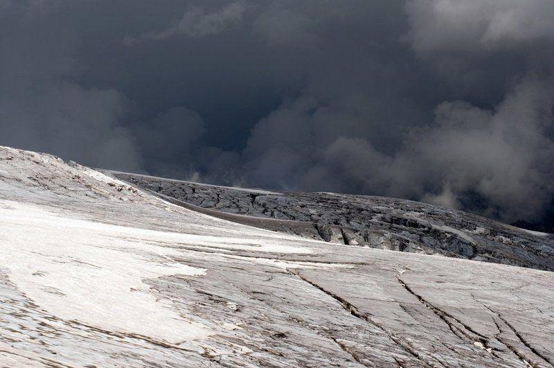 эльбрус, ледник, гроза Штормphoto preview