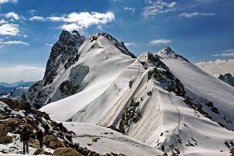 кавказ, приэльбрусье, горы, тютю-баши, восхожление Тютю-Башиphoto preview