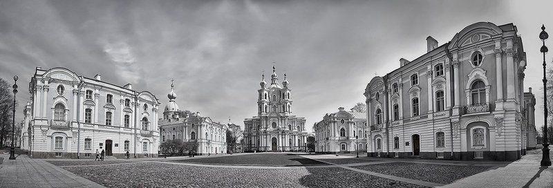 санкт-петербург, смольный монастырь, город Ансамбль Смольного монастыряphoto preview