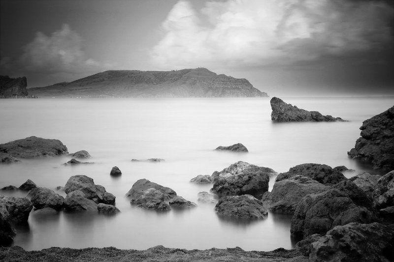 крым, море, камни Спокойствиеphoto preview