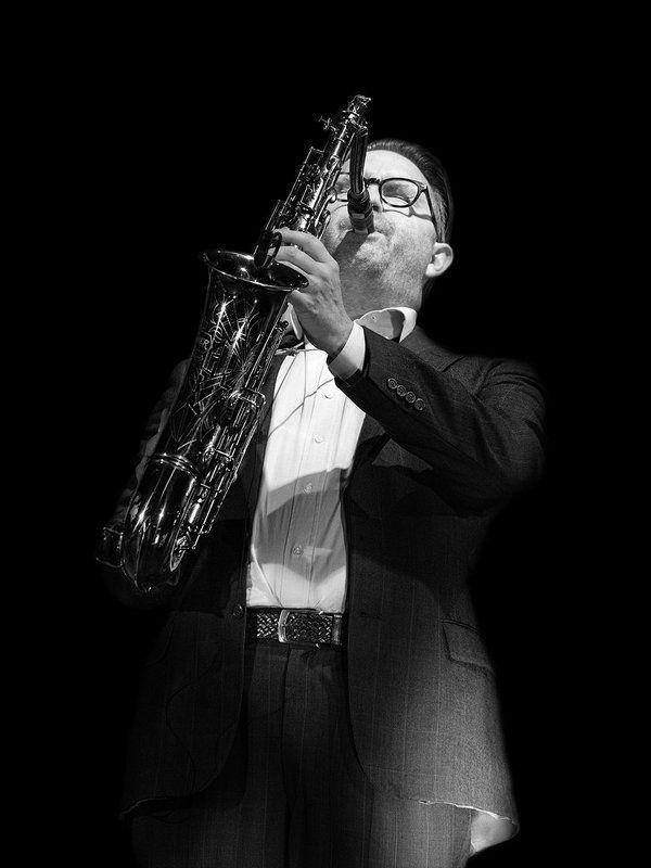 jazz; music; sax; fusion; Mezzoforte Oskar Gudjonssonphoto preview