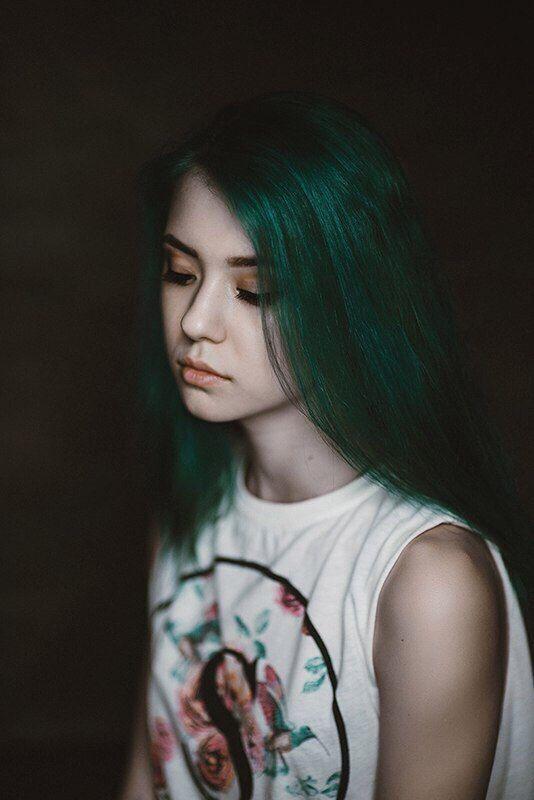 портрет, жанр, лицо, лица, женщина, девушка Русалкаphoto preview