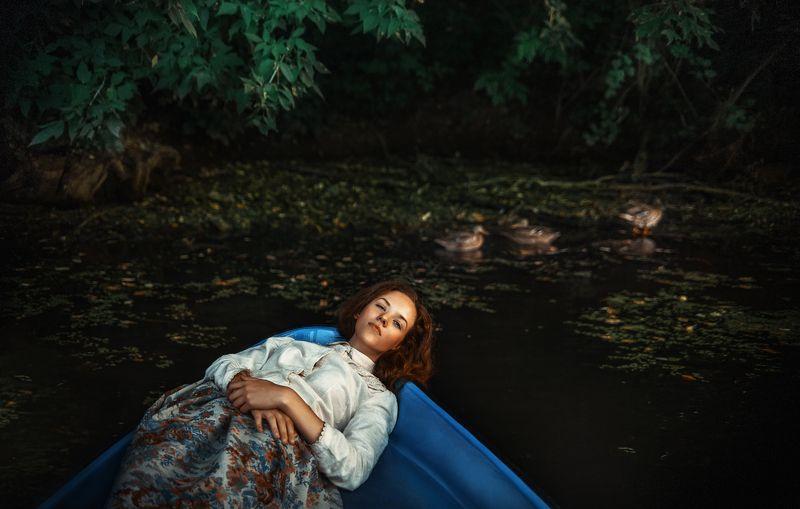 Портрет девушка, Река широкий угол, Тамрон, Широкий угол *****photo preview