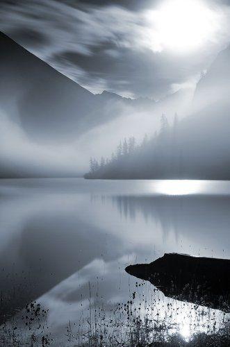 геометрия ночного тумана (чб)