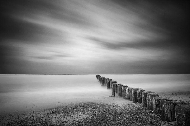 sea, long exposure photo preview