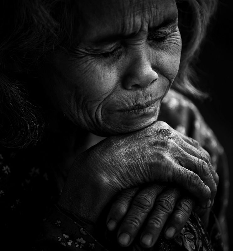 Черно белый портрет, лица Больphoto preview