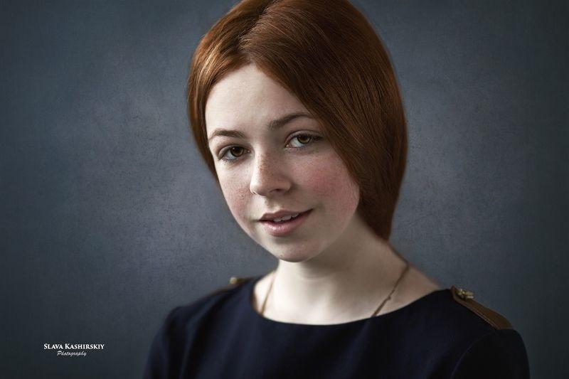 портрет девушки, pretty face, headshot Машаphoto preview