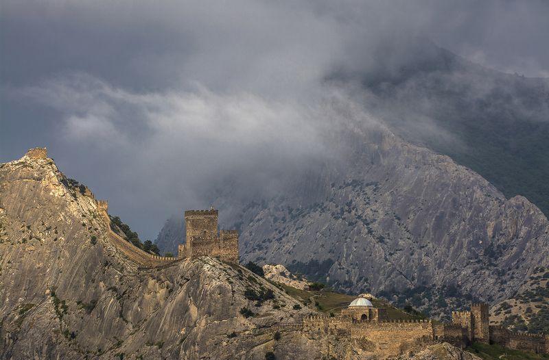 Крым, Судак Генуэзская крепостьphoto preview