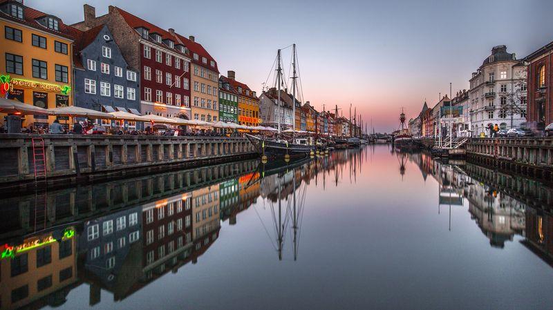 город отражения цвет Pulse of Copenhagenphoto preview
