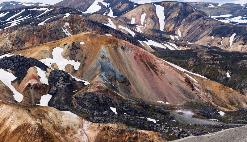 Цветные горыphoto preview