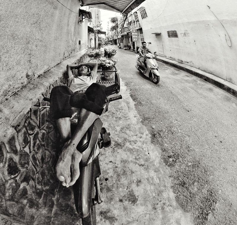 Улица, жанр Сиестаphoto preview