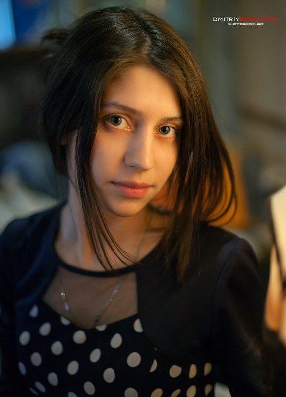 портрет,девушка,кафе, Таня.photo preview