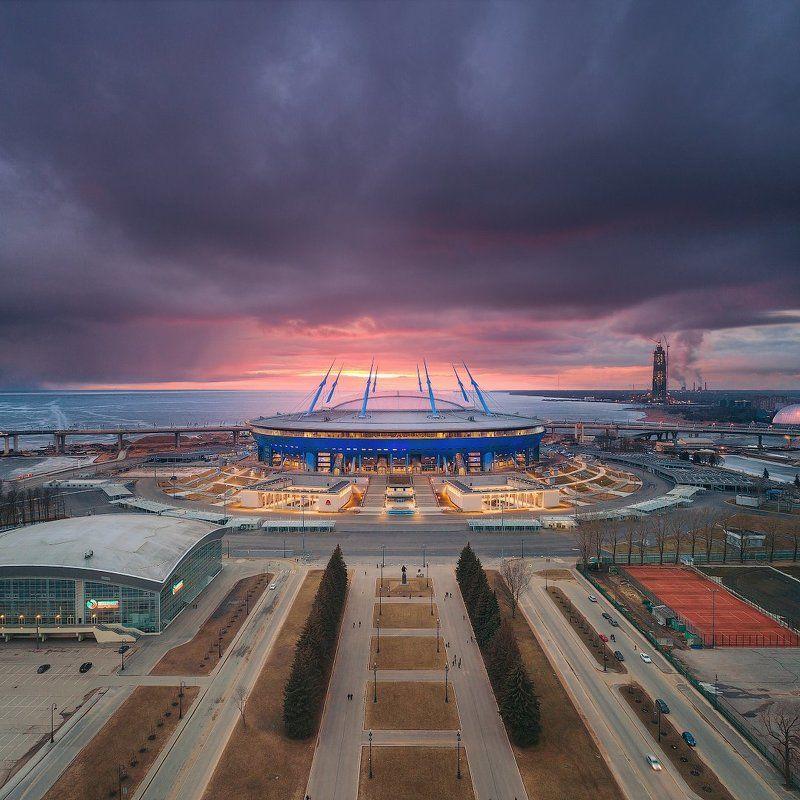 санкт-петербург Вечерний Петербург.  Санкт-Петербург Аренаphoto preview