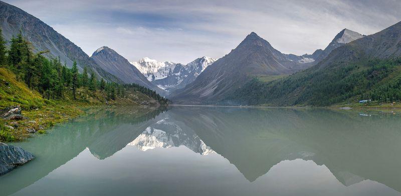 горы, алтай Аккемское озероphoto preview