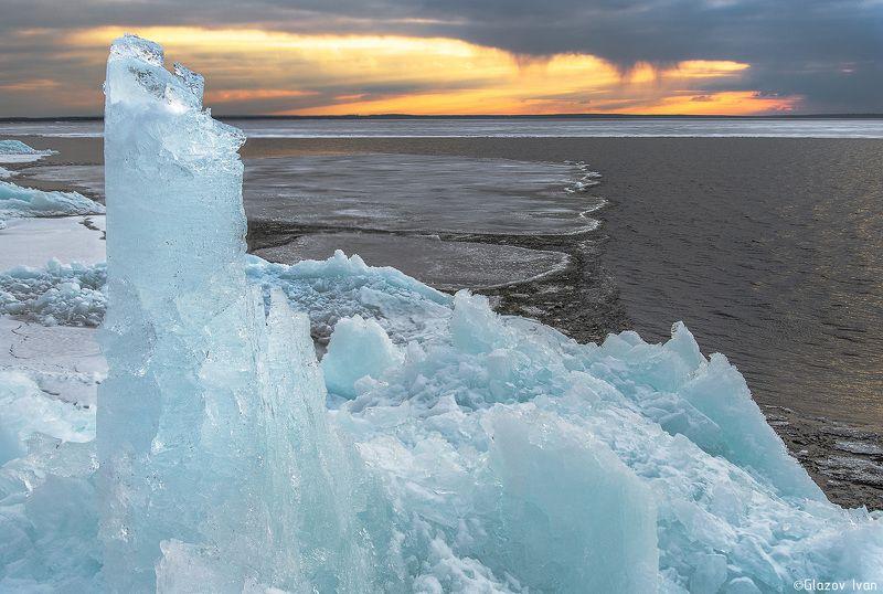 льды Нижегородской ГЭСphoto preview