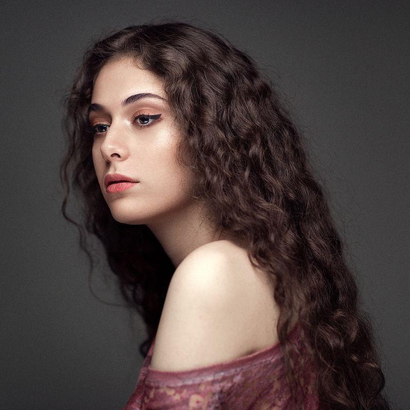 portrait, model, face, beauty, girl, studio, lighting, makeup Mahtabphoto preview