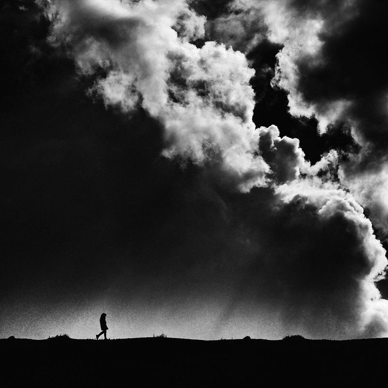 conceptual, fineart, cloud, girl, creative, minimal, My yesterdayphoto preview