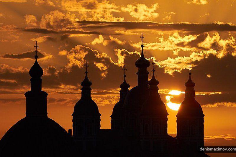 смоленск Один майский закат в Смоленскеphoto preview