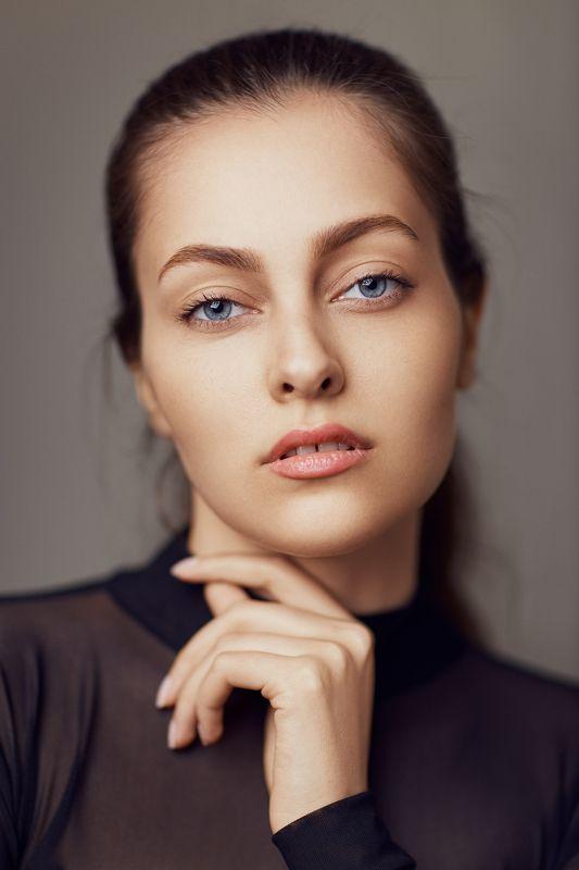 portrait, beauty, headshot, pretty, model, studio, lighting, Saysphoto preview
