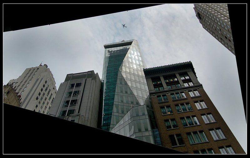 америка, нью-йорк, небо, самолет, 11 сентября, небоскребы Нью-Йорк. После событийphoto preview