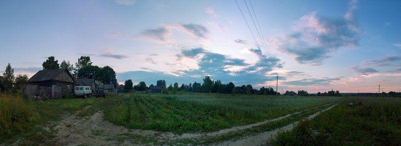 Русская деревня...photo preview