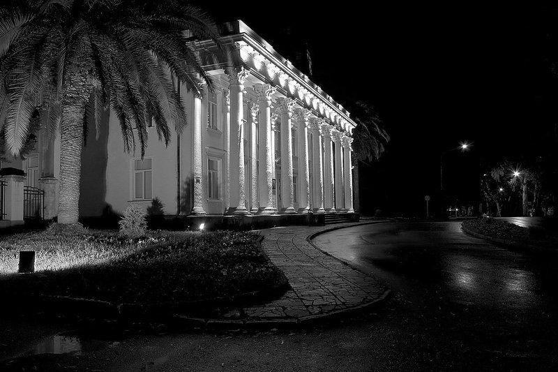 город, ночь, гагра, абхазия, апсны Ночная Гаграphoto preview
