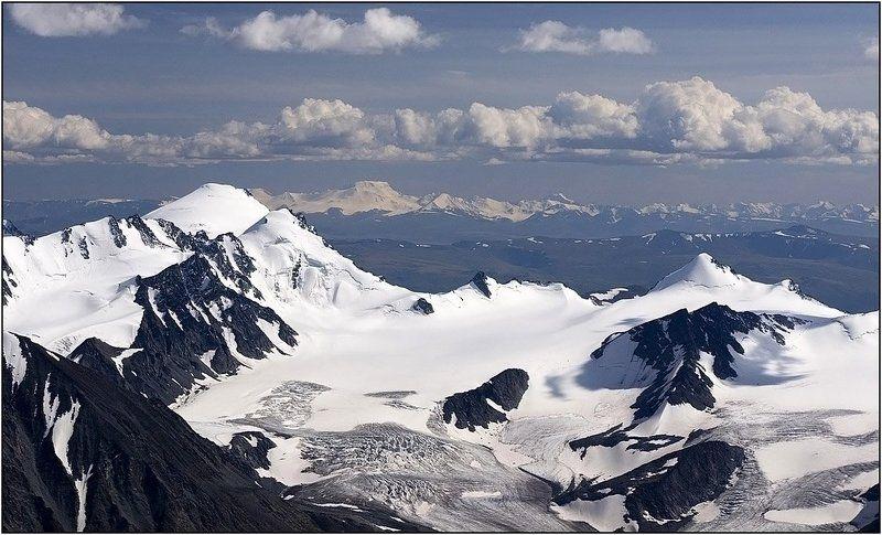 алтай,  плато укок, ледник талдуринский Юг Алтая.photo preview