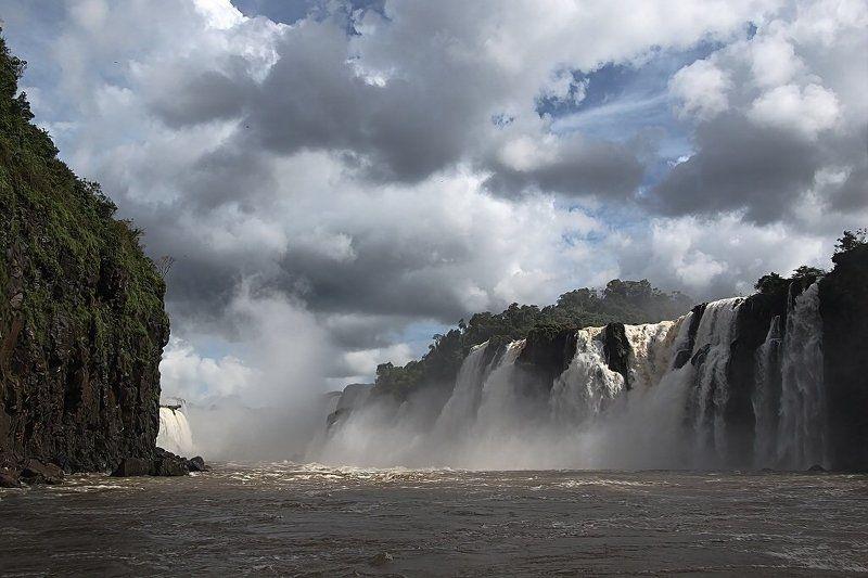 облако, поток, вода, водопад Так делают облакаphoto preview