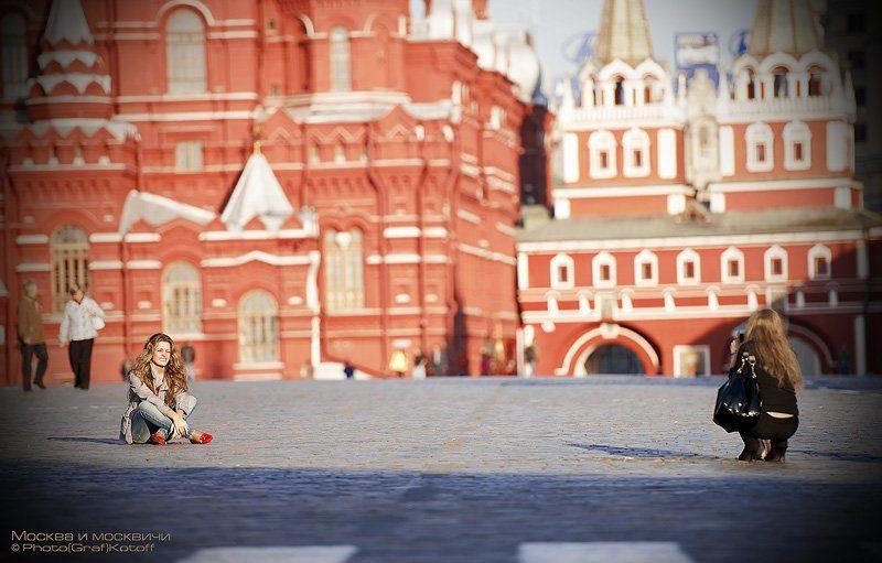 москва, площадь, красная, фотосъемка, девушки, кремль, исторический музей, На Красной.photo preview