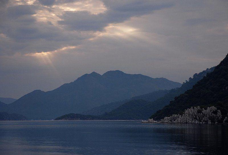 дождит, утро, мармарис, море_эгейское Дождливое утроphoto preview