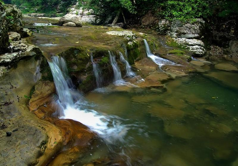 агура, река, порог, водопад, прогулка ОНА ТАКАЯ РАЗНАЯphoto preview