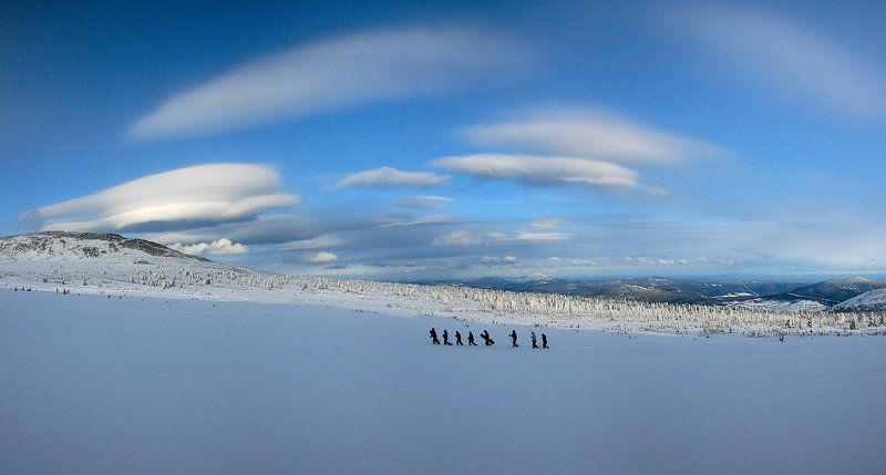 шерегеш зима снег Шерегешские дали.photo preview